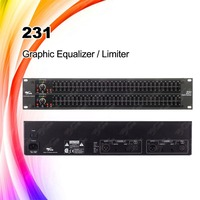 231 two channel 31-band sound system equalizer