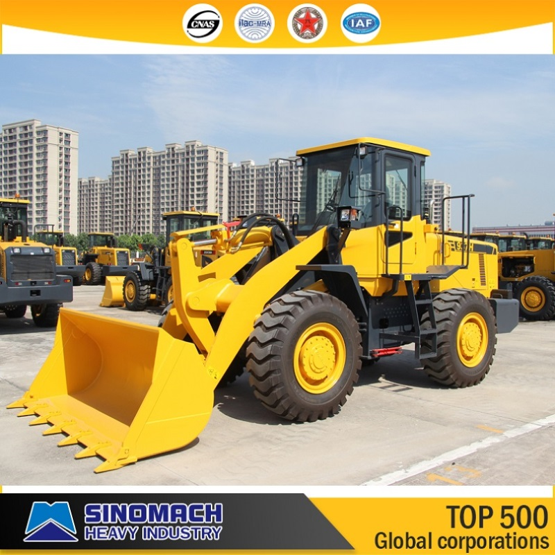 SINOMACH Construction Machinery 3 ton Front Wheel Loader 937H