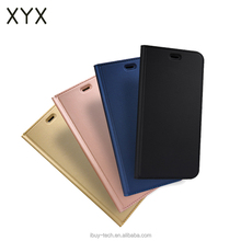 2017 New Mobile Phone Accessories Flip Leather with kickstand flip case for Xiaomi Note 4