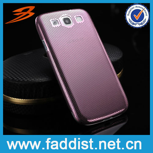 Perforata aluminium product for Samsung i9300 S3 mobile case
