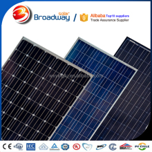 Mono 4BB 30v yingli solar panel 250w 260w 270w for home use