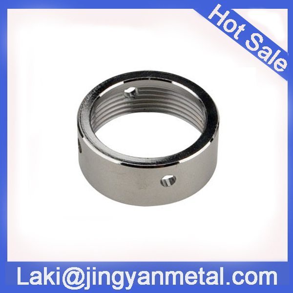 Chrome plated brass faucet coupling nut