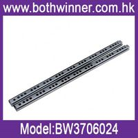 Bottom mounted telescopic drawer channel ,h0t157 ball bearing double drawer slide for sale