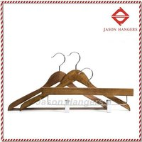 F6620 flat wooden top hanger