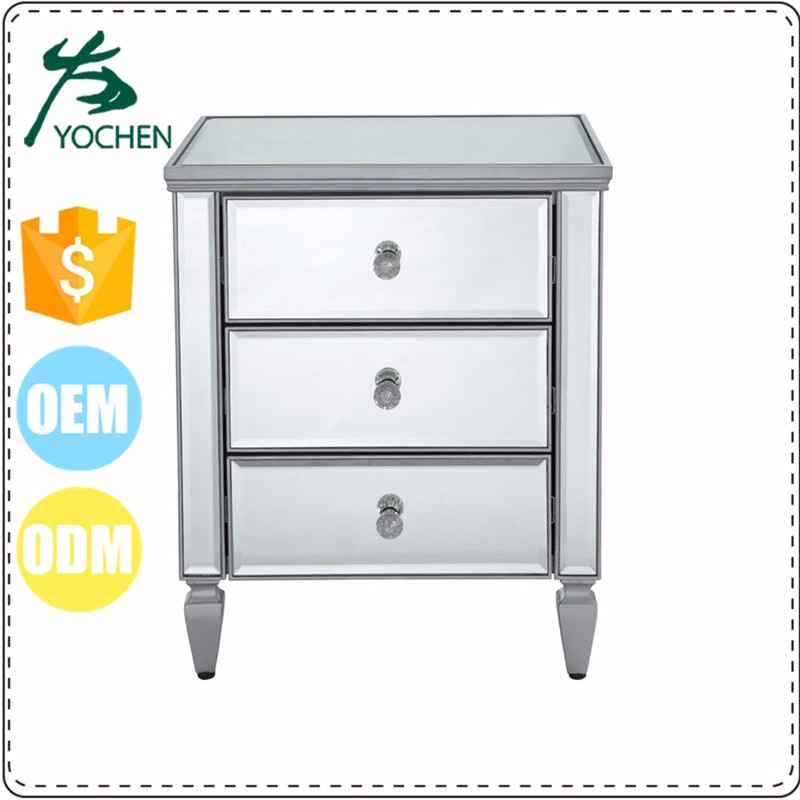 MDF 4 drawers bone inlay furniture dresser for bedside table