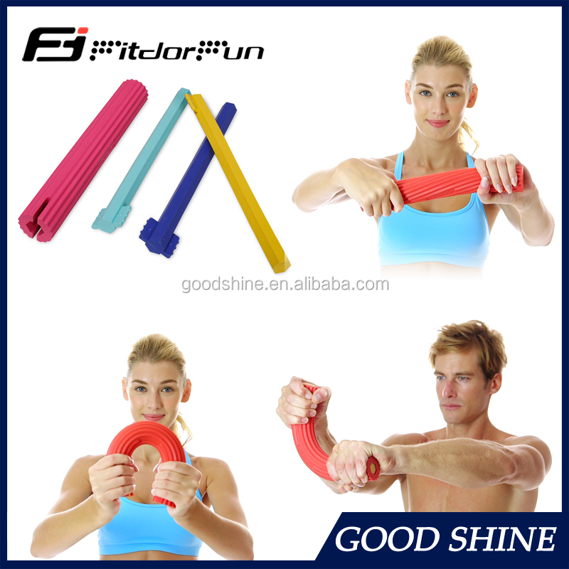 Creative hand therapy exercise twister bar adjustable arm muscle trainer
