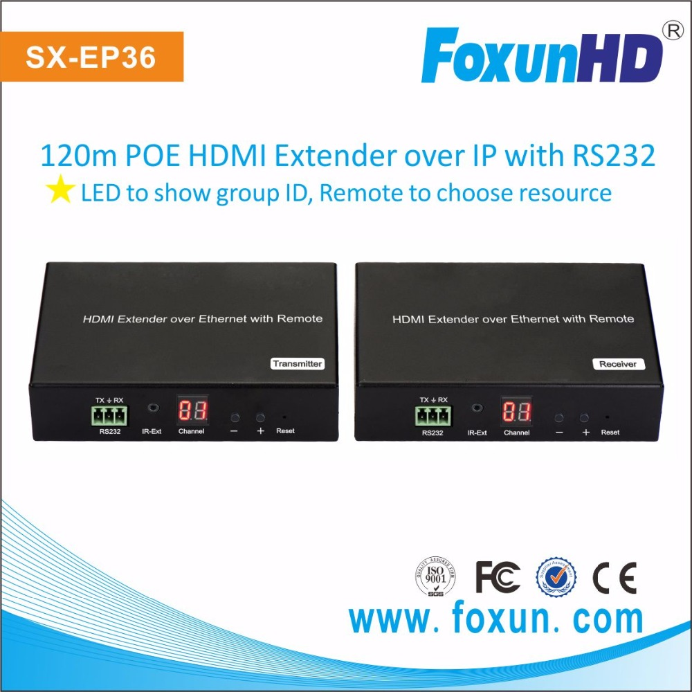 POE HDMI Extender support VLC wireless play
