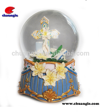 Custom Religious Water Ball OEM crystal snow globe Snowball Factory