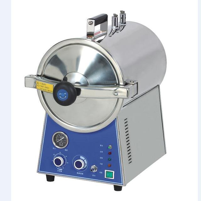 Stainless steel portable type steam autoclave sterilizer
