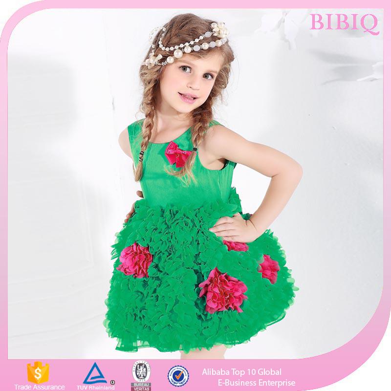 Купить Платье Для Девочки Зеленое