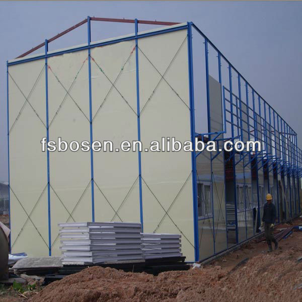 2013 hot sale K-module house beautiful modern prefab huse for carport shelter,showroom dormitory residence guarding tower