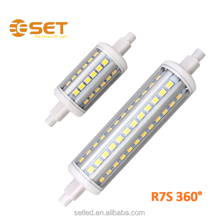 8W Aluminum High Lumen r7s led