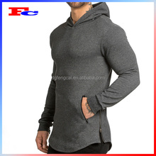 Blank Oversized Fitness Gym Sports Wear Wholesale Men's Muscle Fit Hoodie Pullover Hoodie