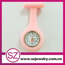 Silicone rubber nurse watch electronic, plastic waterproof nurse watch