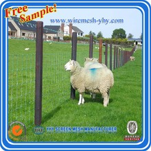 Hot dip galvanized sheep and goat farming fence