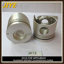 6D16 and 6D15 piston with piston pin