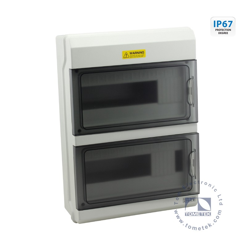 IP67 watertight electrical plastic box power distribution box