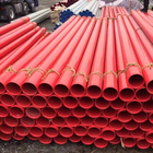 Fire fighting epoxy coated steel water pipe
