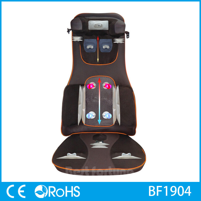 Car and Home Seat Back Support Massage Cushion Manufacture