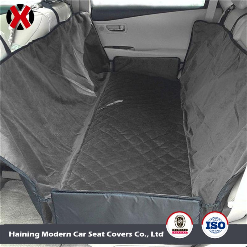 Luxury Quilted Hammock Seat Covers Dog Seat Covers for Cars Car Pet Seat Cover