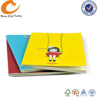 Design new coming paper cover bound composition notebook