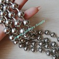 Metal beaded 10mm ball chains for decoration