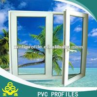 white/color 60/80/88 door panel plastic/pvc extrusion window and door profile