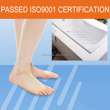 PEVA transparent sticker waterproof anti slip strips bathtub non slip tape