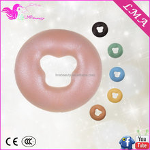 Modern manufacture silica gel pillow for facial beauty massage bed