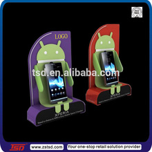 TSD-A792 China factory famous brand custom mobile phone holder/acrylic mobile phone stands/Acrylic mobile phone display