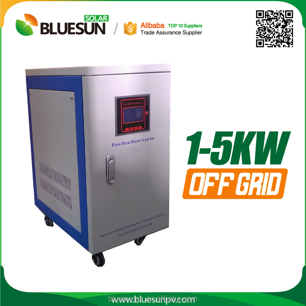 Bluesun top sale 3kw off-grid power inverter dc 12v ac 220v