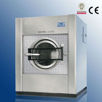 Vertical glass washing machine