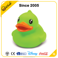 B.Duck design multicolor led floating bath rubber duck for toy