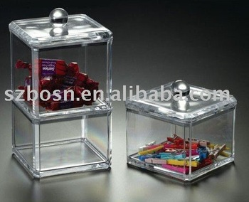 Acrylic Candy Box,Plexiglass Bonbon Box,Perspex Candy Bin