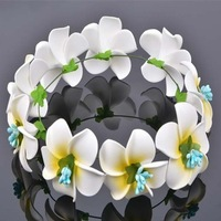 Fashion women japan flower headband hawaiian flower hair bands