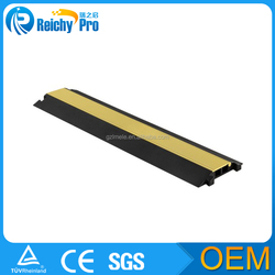 yellow+black floor track cable cover cable protection cover