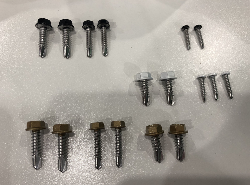 Hex flange self-drilling screw