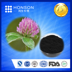 GMP ISO china supplier isoflavones 8%-40% red clover extract