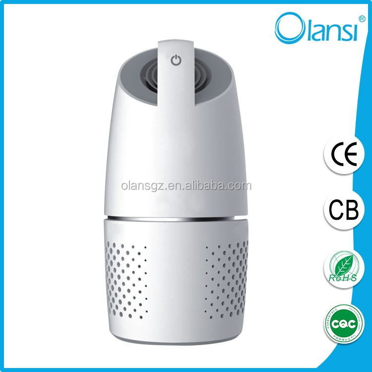 Olans mini new beautiful hot selling active loader waylay filter car air purifier