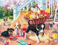 1000 pieces custom jigsaw puzzle for adult online shop China