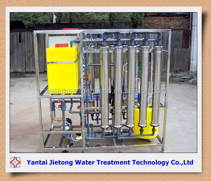 Hemodialysis ro water treatment system machine for making pure water