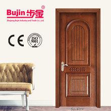 China factory luxury wrought iron double entry doors new design
