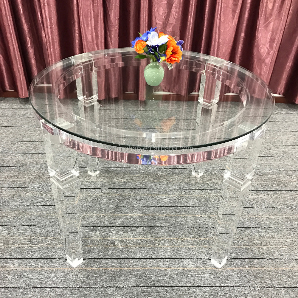 Clear acrylic furniture