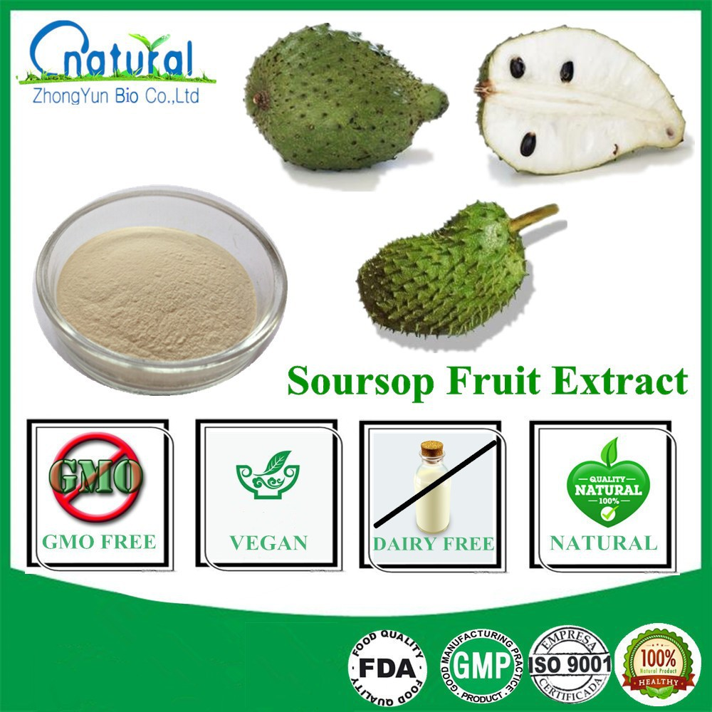 Pure Organic Annona Muricata Soursop Fruit Extract