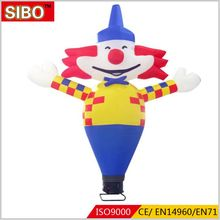 Factory directly price hot sale advertising inflatable air clown dancer