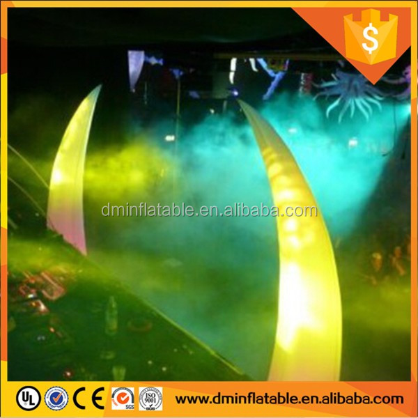 Best-selling party decoration inflatable cone with led light