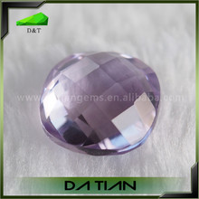 Amethyst stone prices natural 3x3mm cushion cut amethyst crystal
