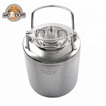 2.5 gallon Ball Lock Stainless steel Cornelius Pepsi Soda Keg Homebrew beer keg with Handles Draft Beer