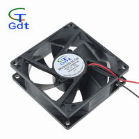 80mm * 80mm * 25mm 12V DC Brushless Cooling Fan Made in China