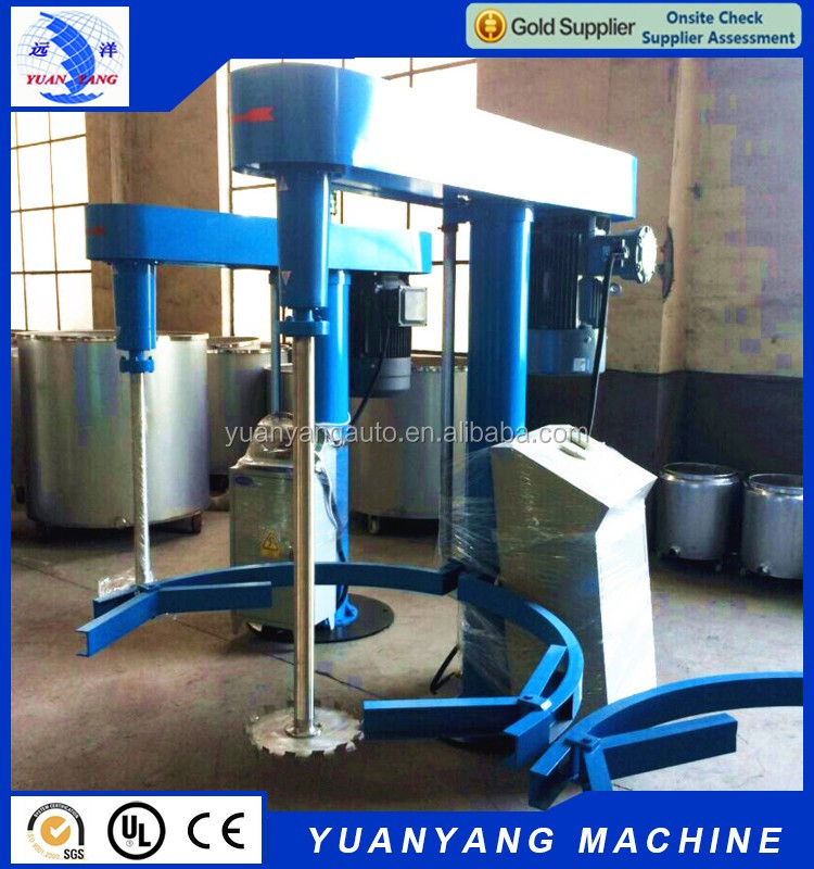 High quality cheap 37 KW hydraulic lifting high speed paint disperser